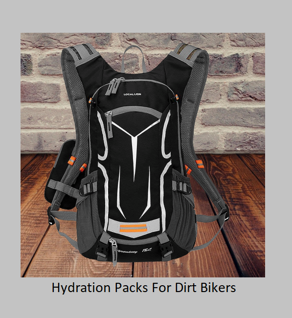 Hydration Packs For Dirt Bikers