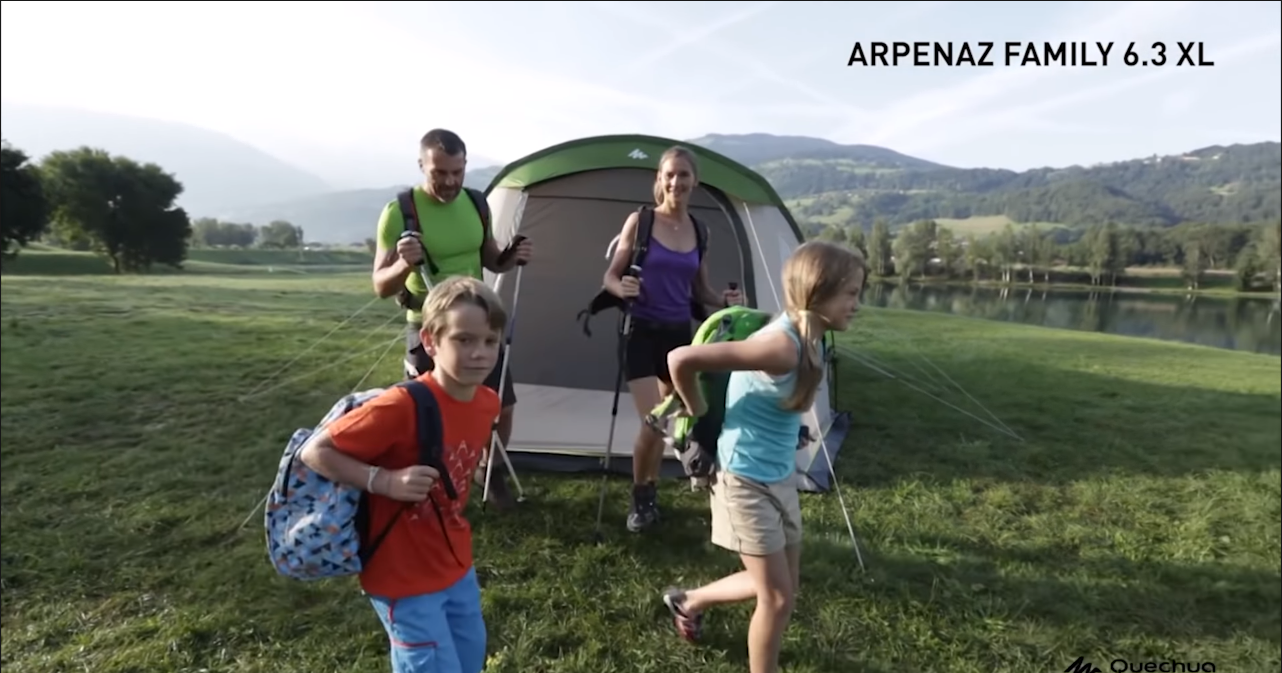 Best Tent for a Family of Four