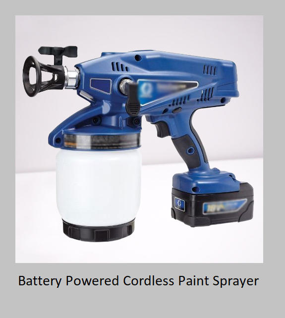 Battery Powered Cordless Paint Sprayer