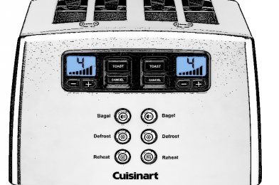 Cuisinart CPT 440P1 Touch to Toast Leverless toaster Reviews