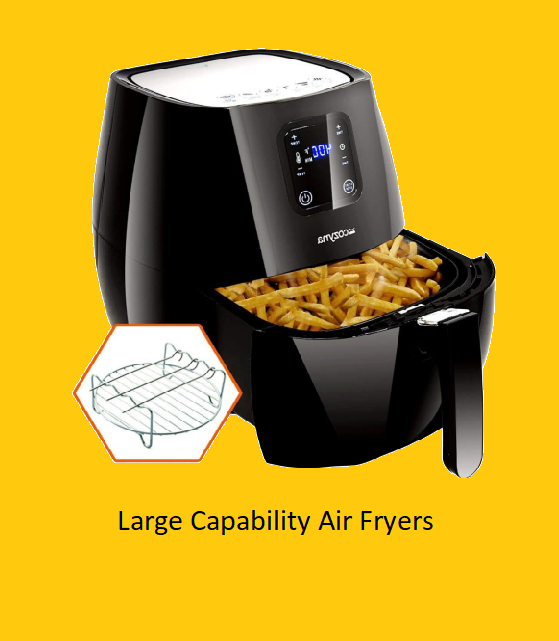 Large Capability Air Fryers